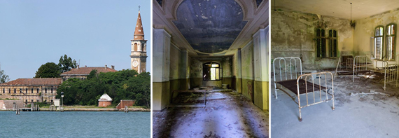 Poveglia, a supposedly haunted island in Italy