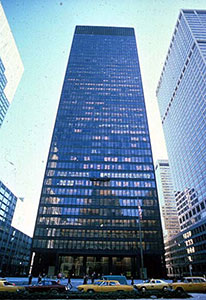 Seagram Building at 375 Park Avenue