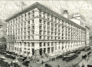 The B. Altman store in 1914