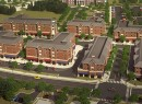 Rendering of PRC Group's student housing project at College of New Jersey