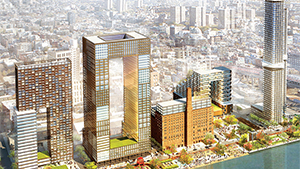 The Domino Sugar site rendering