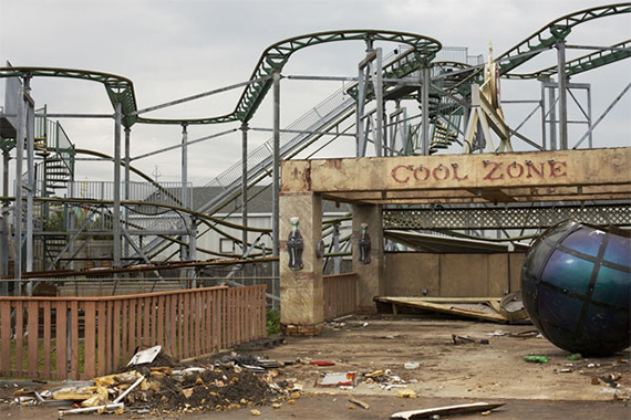 Six Flags site in New Orleans