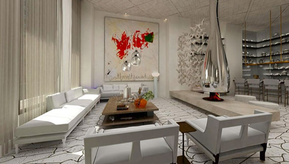 Rendering of 114 East 32nd Street interior (Credit: The Marmara Park Avenue)