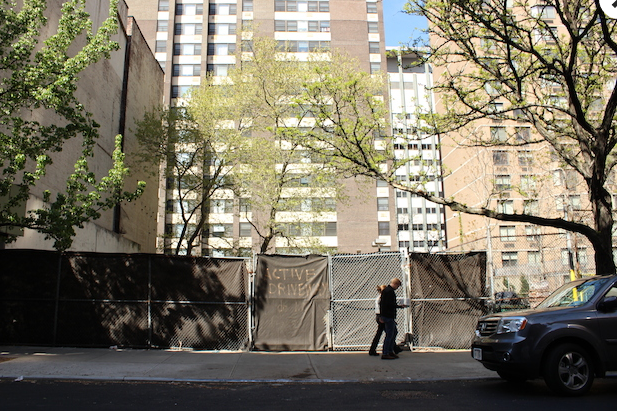 Future site of Phipps Houses development at 325 East 25th Street
