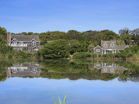 The Ayers-Richards property in East Hampton, NY