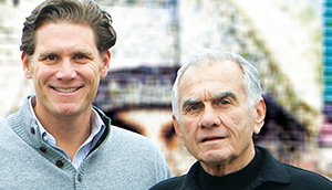 David Wolkoff and his father, Jerry Wolkoff