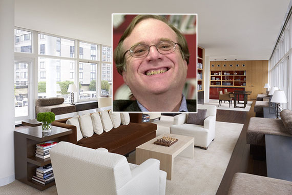200 East 66th Street and Paul Allen (center)
