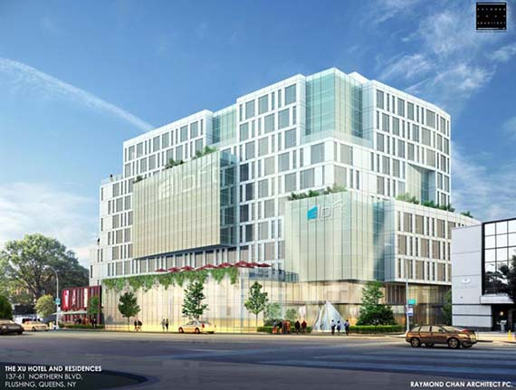 137-61 Northern Boulevard rendering