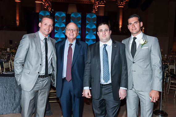 From left: Tal Alexander, Howard Lorber, Michael Stern and Oren Alexander