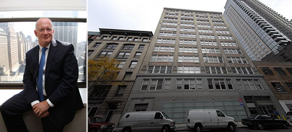 From left: Kaufman's Grant Greenspan and 119 West 124th Street