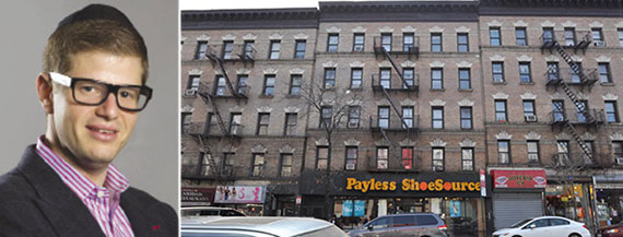 From left: Steven Vegh and 554-558 West 181st Street