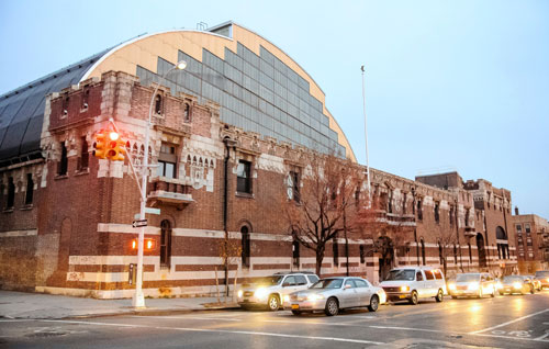 Bedford-Union Armory in Crown Heights