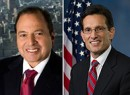 From left: Douglas Durst and Eric Cantor