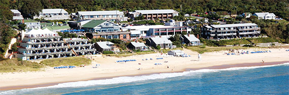 Gurney's Inn in Montauk has been upgraded and just reopened as Gurney's Montauk Resort & Seawater Spa