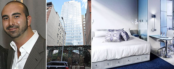 From left: Alex Sapir and 9 Crosby Street