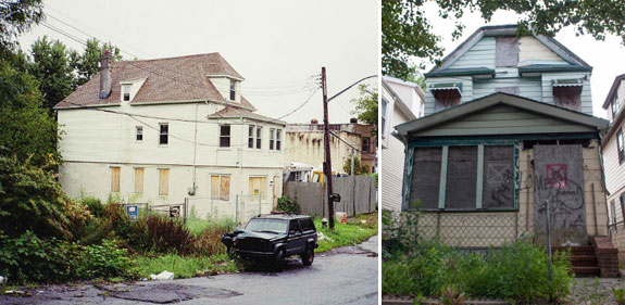 Abandoned NYC homes