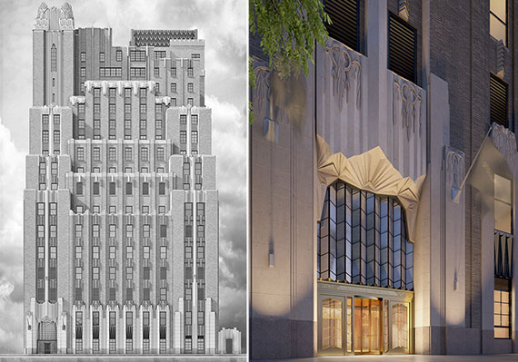Renderings of Stella Tower at 425 West 50th Street