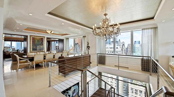The $118 million super unit in the Ritz-Carlton Hotel in Battery Park