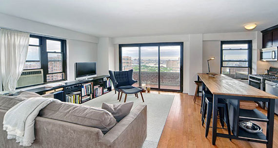 A $3,000 rental apartment at 413 Grand Street in Manhattan