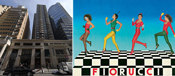 From left: 127 East 59th Street and Fiorucci's Department Store