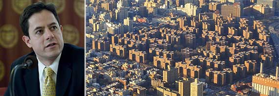 From left: Dan Garodnick and Stuyvesant Town