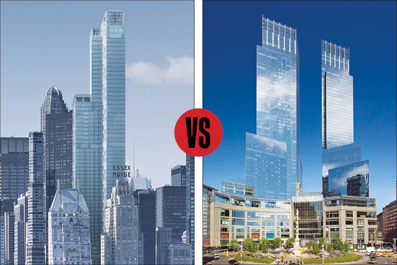 One57 vs. Time Warner Center