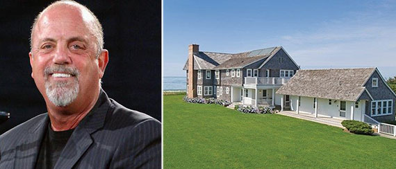 Billy Joel and 9 Gibson Lane in Sagaponack