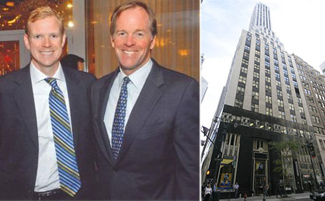 From left: James Nelson, Paul Massey, Jr. and 275 Madison Avenue