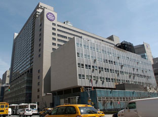 NYU Langone Medical Center at 550 First Avenue