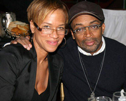 From left: Tonya Lewis Lee and Spike Lee