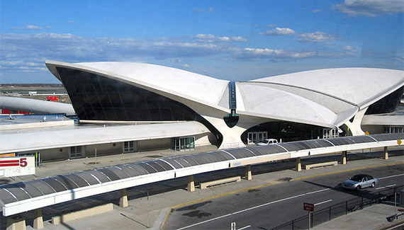 TWA terminal at JFK International Airport (pheezy via Flickr)