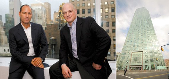 From left: Savanna managing partners Christopher Schlank and Nicholas Bienstock and 1 Court Square
