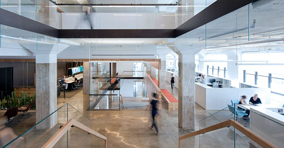 Inside Horizon Media's Manhattan office space