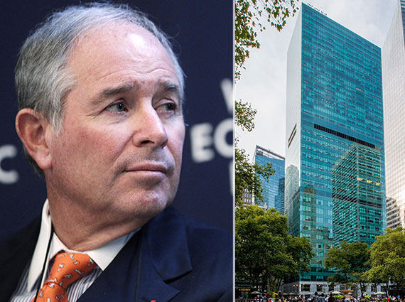 Blackstone CEO Stephen Schwarzman and 1095 Sixth Avenue