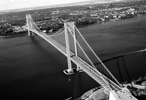 The Verrazano Bridge turns 50 this week.