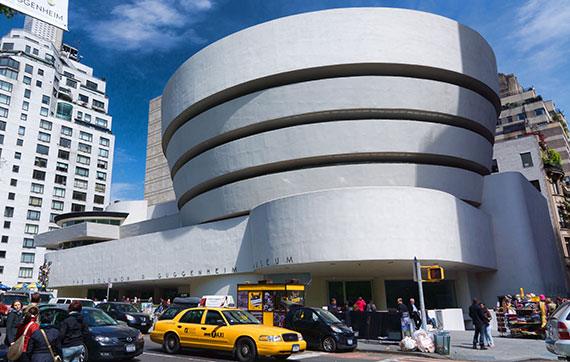 The Solomon R. Guggenheim Museum at 1071 Fifth Avenue