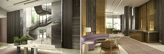 Rendering of the Four Seasons at 30 Park Place