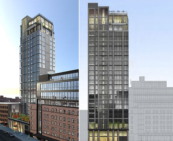 Renderings of 414 West 15th Street