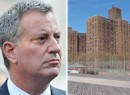 Bill de Blasio and Coney Island Houses