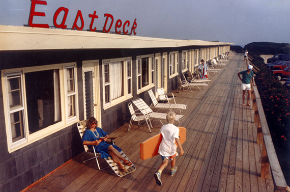 East Deck Motel in Montauk in 1988