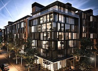 Rendering of Xinyuan's Oosten development in Williamsburg