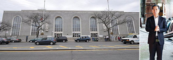 From left: the Bronx General Post Office and Young Woo
