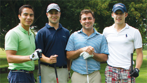The winning team from Meridian Capital Group and Bisnow