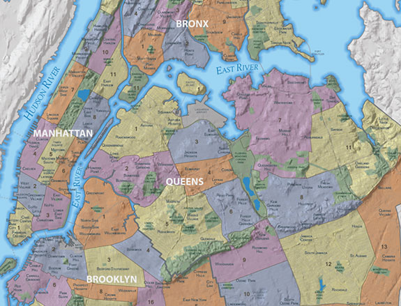 City Planning's revamped neighborhood map includes more neighborhoods than the 2010 edition.