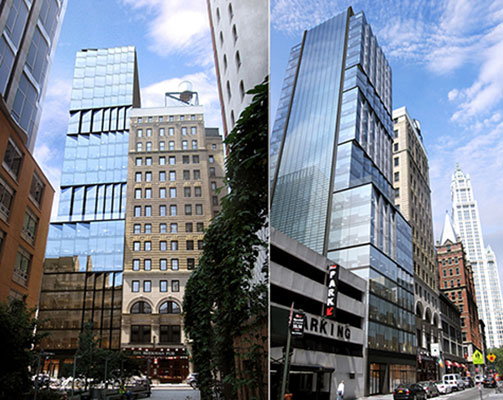 Renderings of 19 Beekman Street