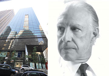 From left: 590 Madison Avenue and developer Edward Minskoff