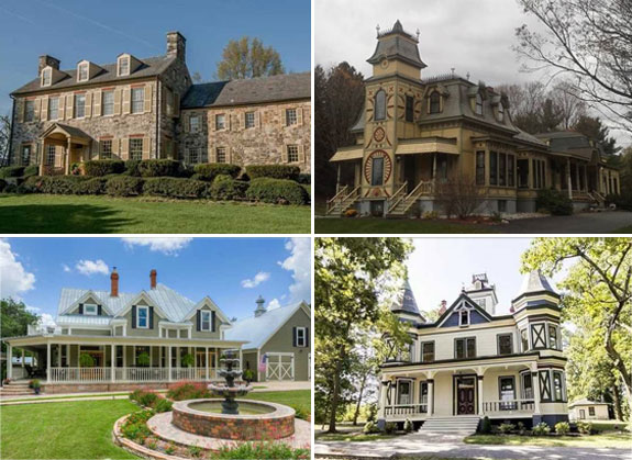 Affordable mansions around the country