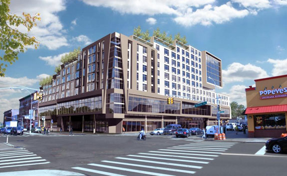 A rendering of the Tremont Renaissance