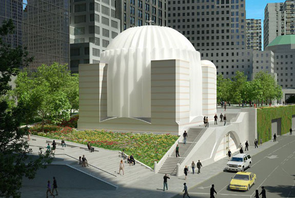 A rendering of the St. Nicholas National Shrine