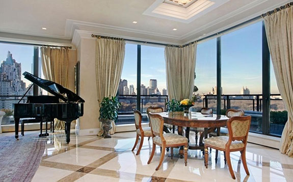 David Geffen's penthouse at